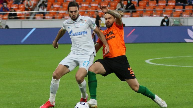 «Урал» сравнял счет в матче с «Зенитом»