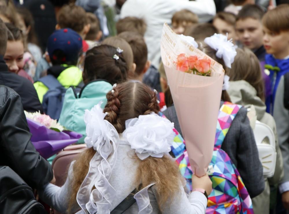 В этом году в школы Петербурга пойдут 64 тысячи первоклассников