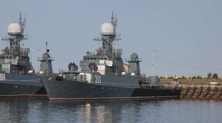 Российский военный фрегат и грузовое судно столкнулись у берегов Дании