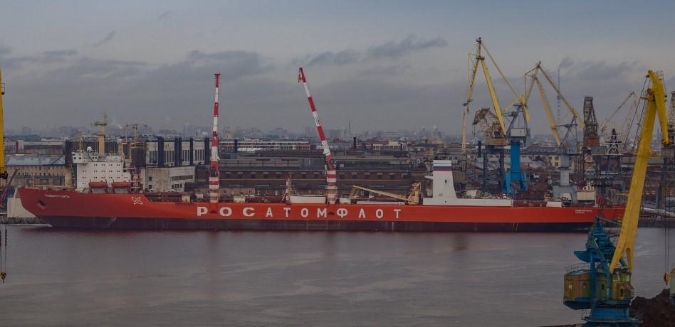 Атомоход «Севморпуть» доставил в Петербург 6,5 тысяч тонн камчатской рыбы