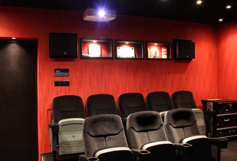 Домашний кинотеатр. Фото: pixabay