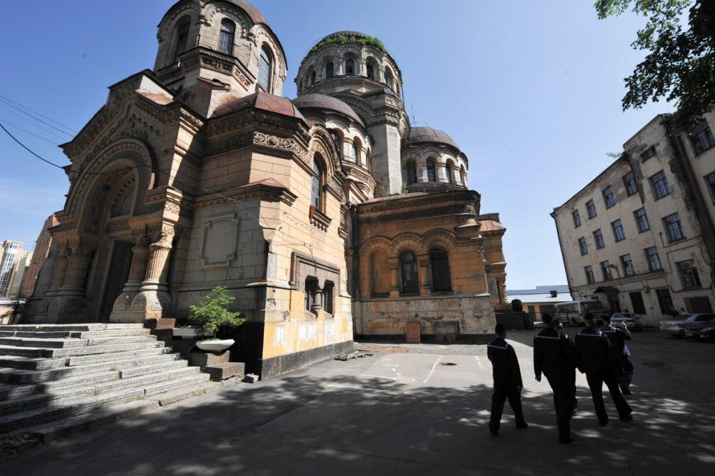 Реставрация церкви после водолазов в Петербурге обойдется в 328 млн