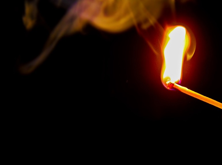 Поджог. Фото: Рixabay