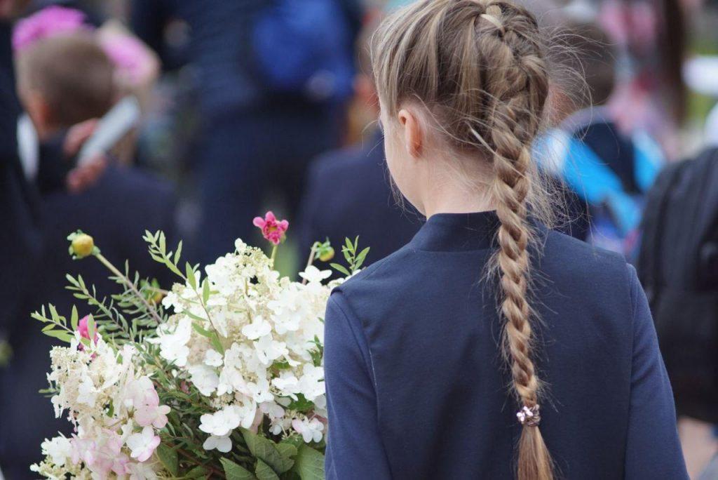Фоторепортаж Мойки78: петербургские школьники отмечают день знаний