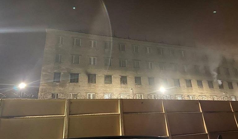 В Колпинской воспитательной колонии пожар, устранить нарушения уже требовали