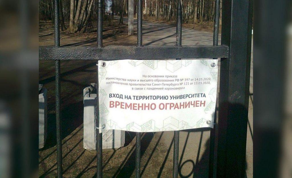Политехнический университет оставил петербуржцев без парка