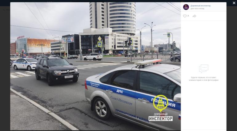 ДТП в Приморском районе: на пешеходном переходе сбили ребенка