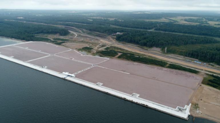 Для порта в Усть-Луге намыли 47 га территорий