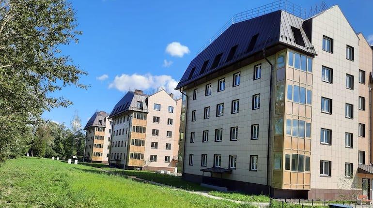 В Пушкине ввели в эксплуатации новые дома