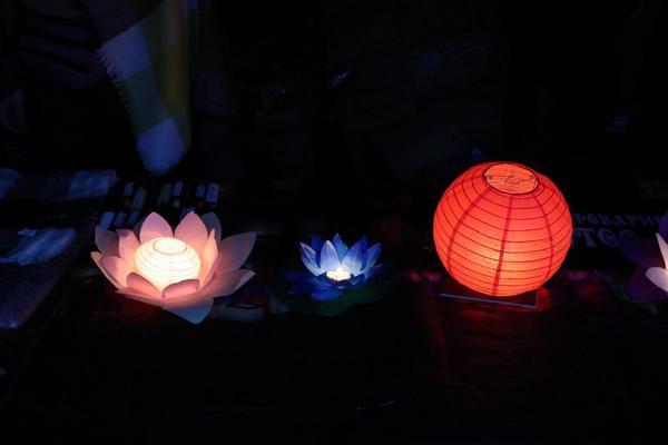 С 4 сентября в Юсуповском саду начнется фестиваль водных фонариков