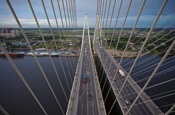Вантовый мост. Фото: Википедия