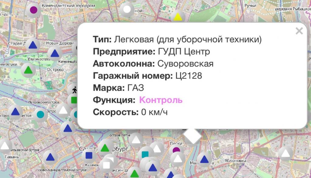 Работу уборочной техники в Петербурге контролируют четыре надзирателя