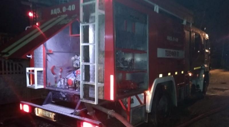 В Приветнинском пожарные за час потушили обстановку в квартире