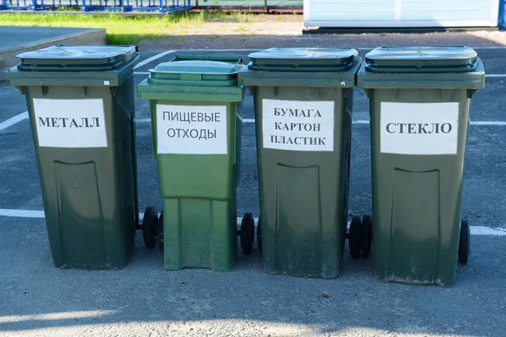 В Ленобласти появится более тысячи площадок для сбора отходов