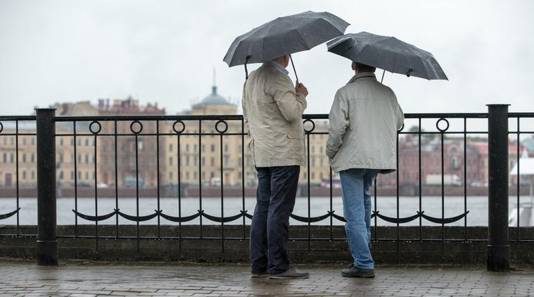 Среда в Петербурге будет пасмурной и сырой