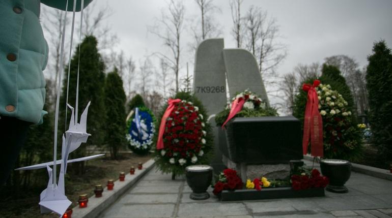 В Петербурге почтили память погибших в крушении над Синаем