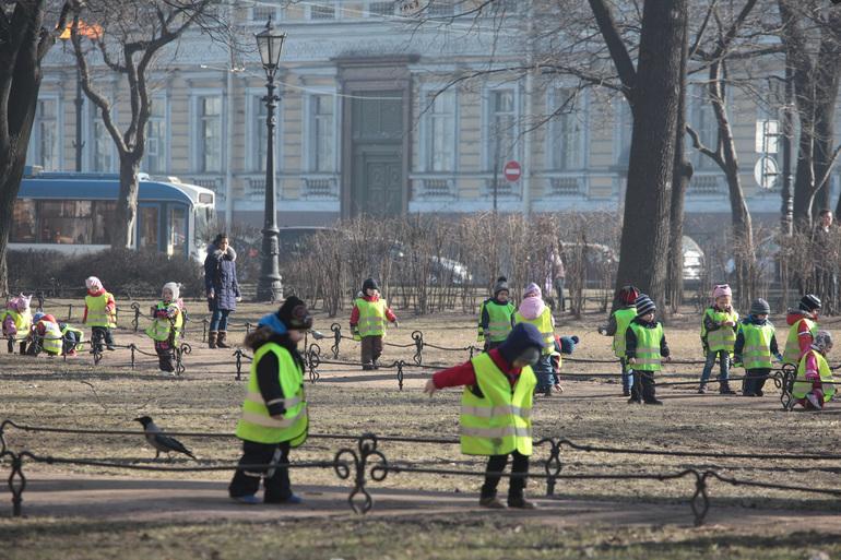 Число ДТП с участием детей в Петербурге сократилось на 30%
