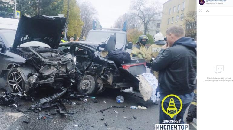 Мать пятилетнего ребенка умерла в больнице после ДТП в Пушкине