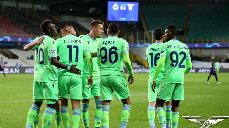В «Лацио» перед матчем с «Зенитом» нашли COVID-19 в команде