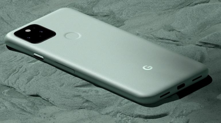 Google официально представил смартфон Pixel 5