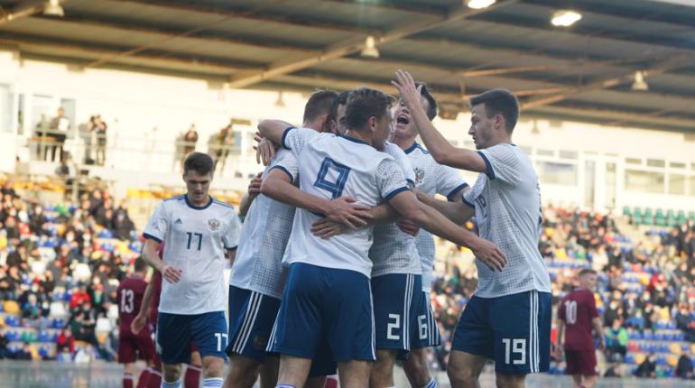 Молодежная сборная России по футболу прошла на чемпионат Европы