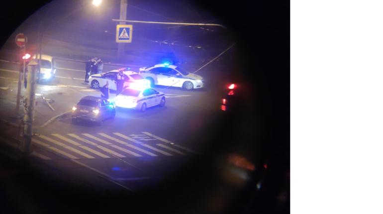 На площади Мужества ночью поймали водителя