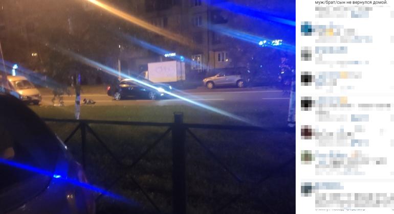 Mercedes насмерть сбил пешехода на Ударников
