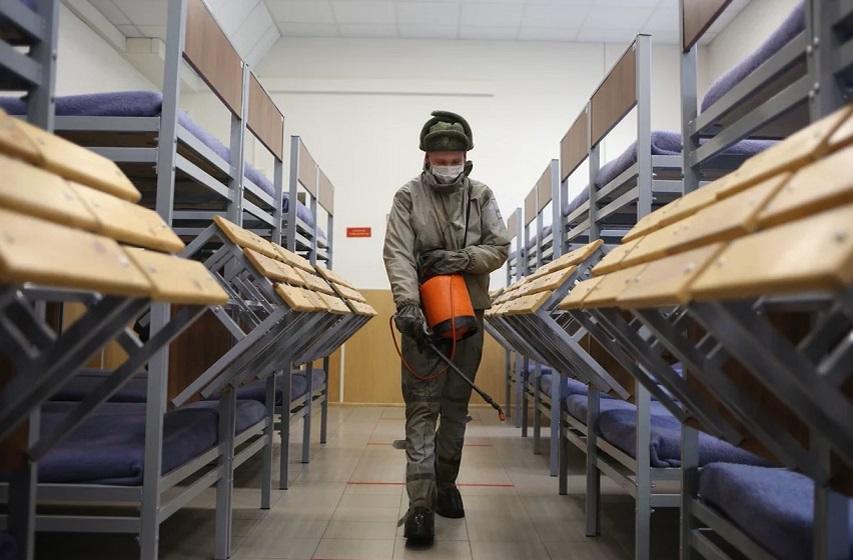 Фоторепортаж Мойки78: как проходит осенний призыв во время пандемии