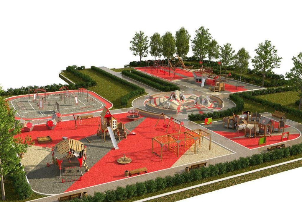 В Setl Group создали современные развивающие детские площадки