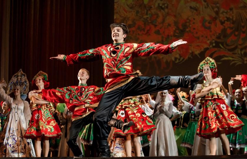 В Петербурге открылся международный фестиваль народной песни «Добровидение»