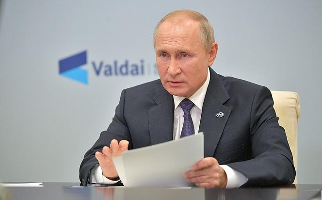 Путин сообщил о числе жертв в Нагорном Карабахе