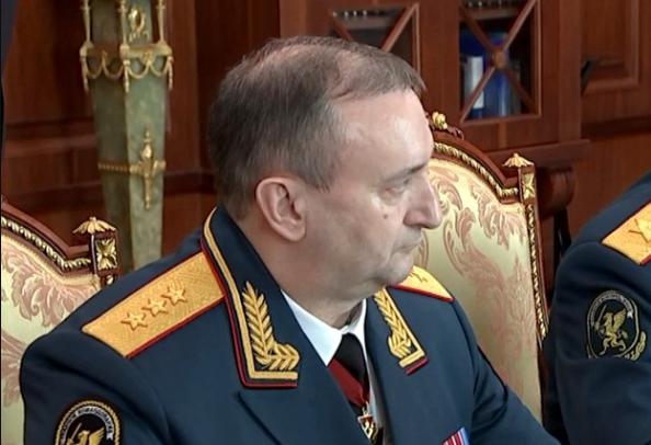 Путин освободил от должности первого замглавы Росгвардии Сергея Ченчика