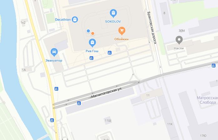 В Петербурге на почти на месяц ограничат движение по Магнитогорской улице