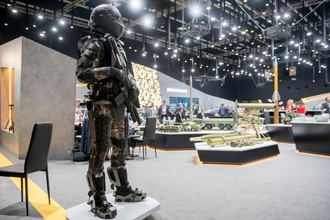 В России создают экипировку для солдат будущего