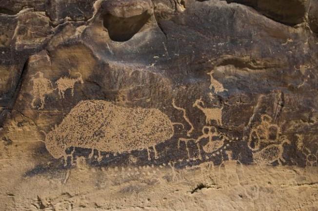 В Австралии найден новый тип пещерного рисунка