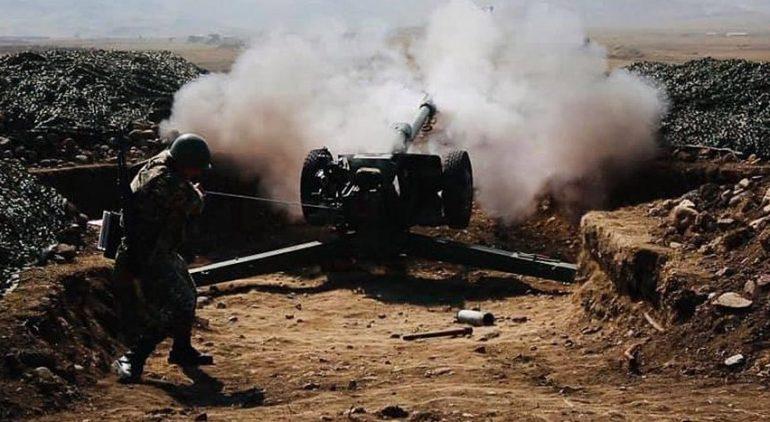 Глава Карабаха заявил, что азербайджанские войска приближаются к Шуше