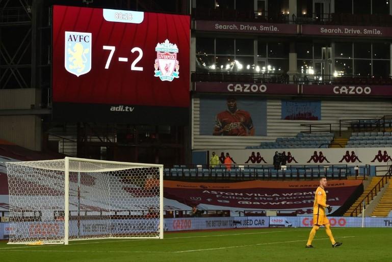 «Астон Вилла» разгромила «Ливерпуль» со счётом 7:2