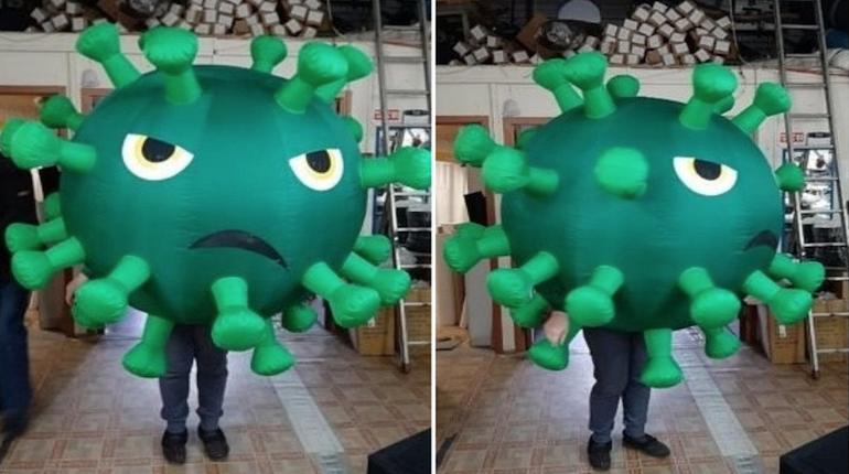 В Петербурге скупают костюмы коронавируса для Хэллоуина