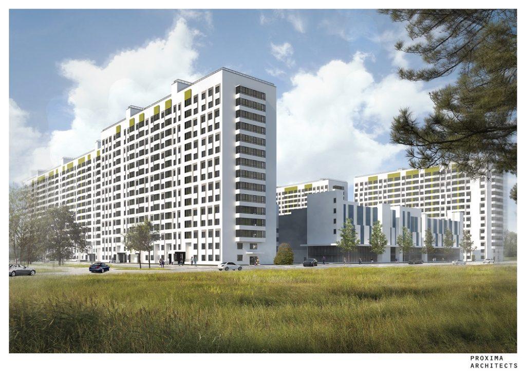 ЦДС построит жилой квартал в Буграх с закрытым двором размером с 5 футбольных полей