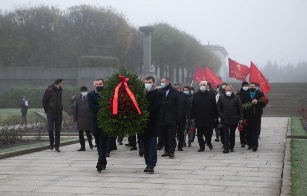 Беглов посетил конференцию 75-летия Победы в Великой Отечественной войне