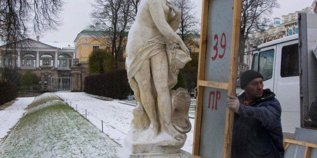 Музей-заповедник «Царское Село» готовится к зимнему сезону