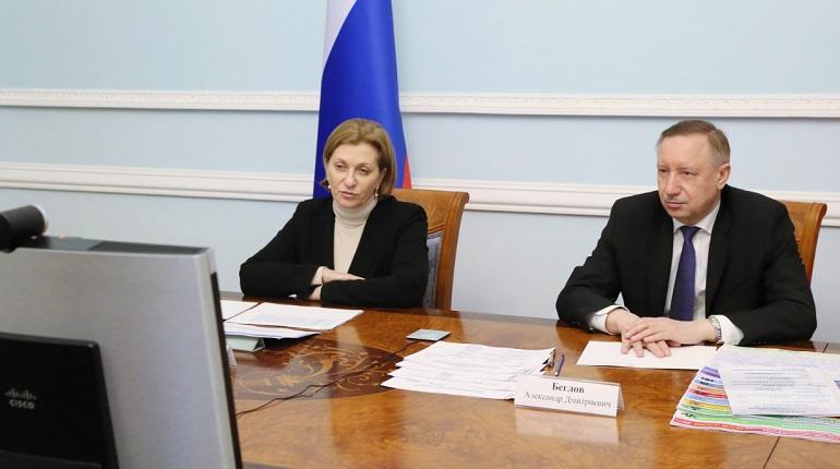 Правительство Петербурга не намерено вводить жёстких коронавирусных мер