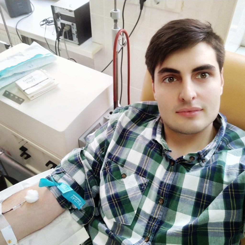 Самвел Пецикян, комитет по молодежной политике: я хотел сдавать кровь сколько себя помню