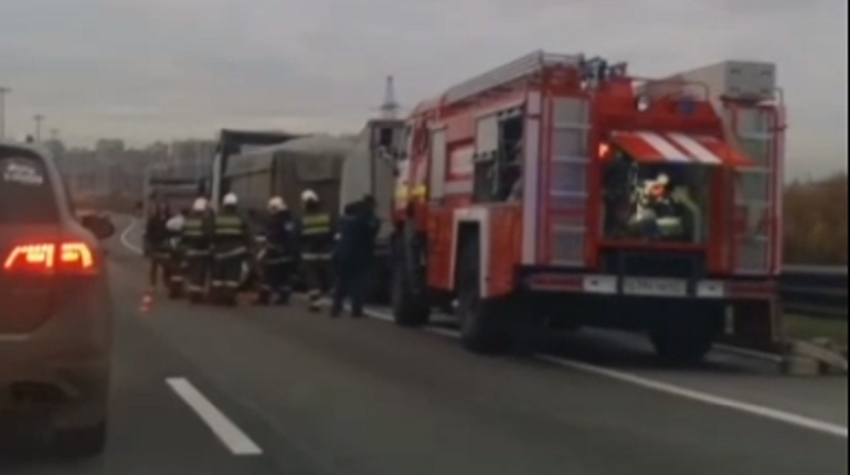 Водитель «Газели» погиб в аварии на КАД