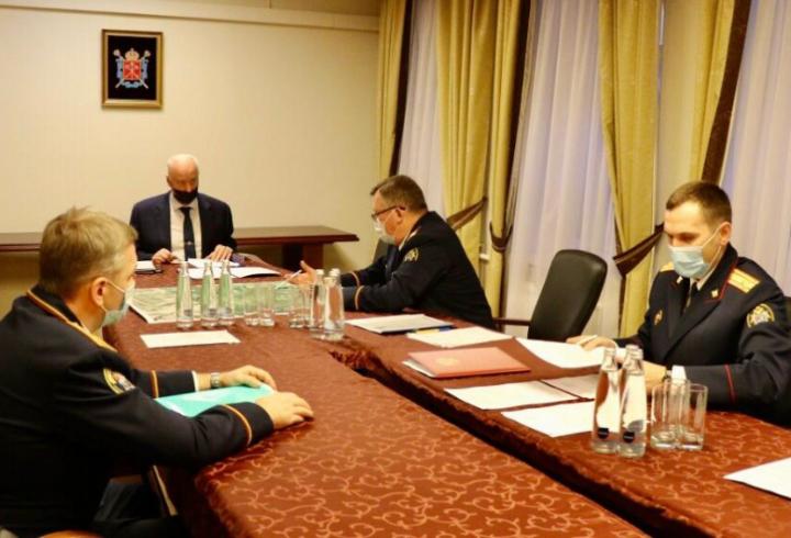 Бастрыкину доложили о ходе резонансных дел в Петербурге