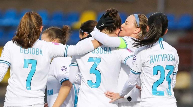 Женский «Зенит» проведет заключительный матч с «Краснодаром»
