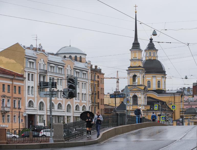 В среду в Петербурге ожидается облачная погода
