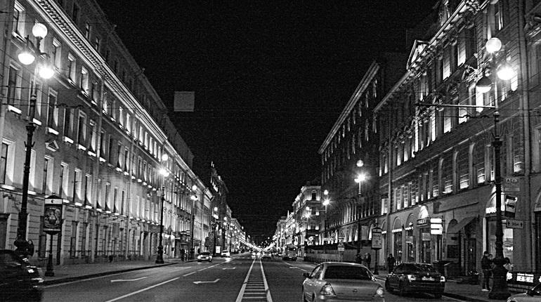 Здания и мосты Петербурга на время скрылись в темноте в честь «Часа Земли»