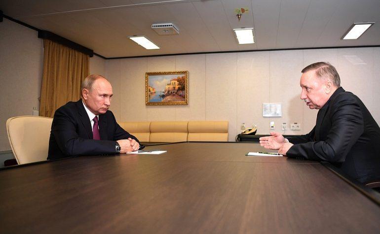 Визит Путина в Петербург: деньги на лекарства, строительство метро и новый ледокол