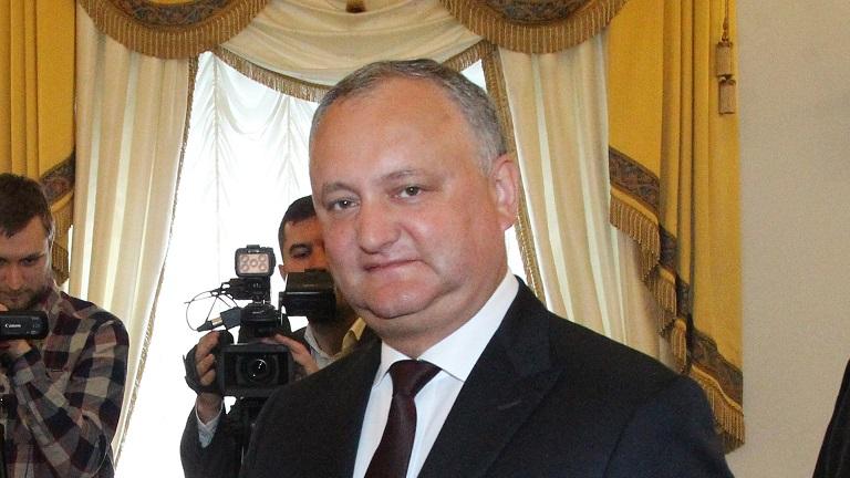 Додон назвал ошибкой слова Санду о миротворцах в Приднестровье